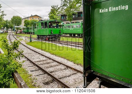 Steam Trains At Chiemsee