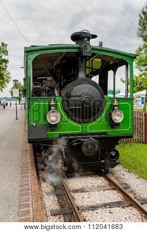 Steam Train At Chiemsee