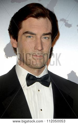 LOS ANGELES - DEC 15:  Timothy Dalton Wax Figure at the Madame Tussauds Hollywood Reveals All Six James Bonds In Wax at the TCL Chinese Theater on December 15, 2015 in Los Angeles, CA