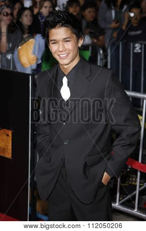 WESTWOOD, CALIFORNIA - November 16, 2009. BooBoo Stewart at the Los Angeles premiere of
