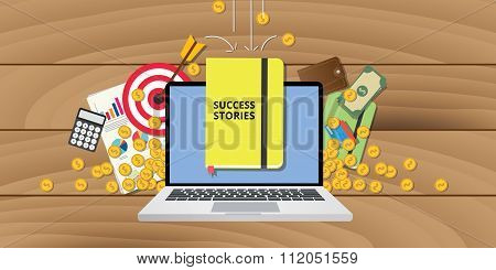 success stories story plan goals achievement business