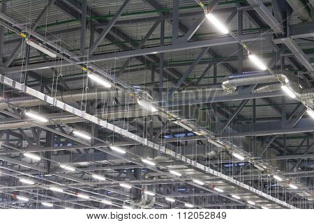 ceiling of an industrial house