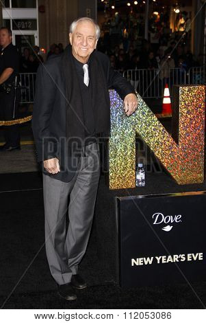 HOLLYWOOD, CALIFORNIA - December 5, 2011. Garry Marshall at the Los Angeles premiere of