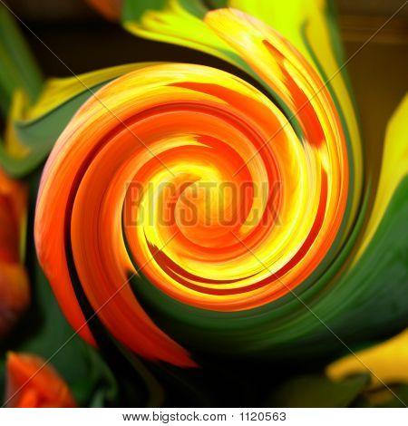 Swirl Flowers