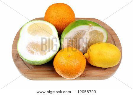 Mix Of Citrus Fruits