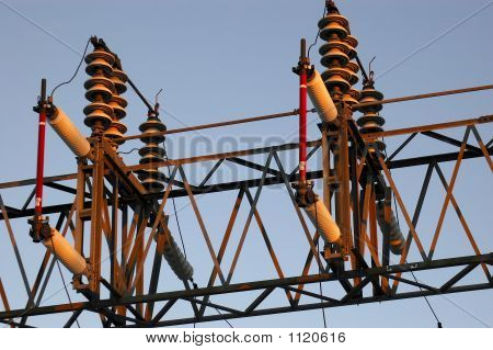 electrical power switch on high voltage power system