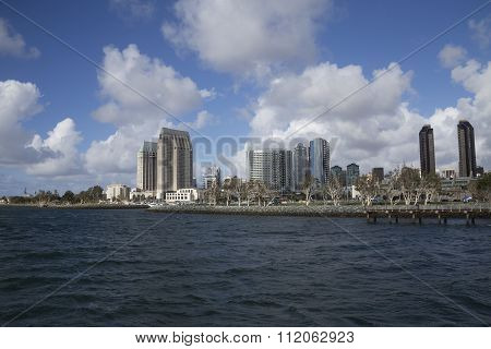 San Diego City Harbor View