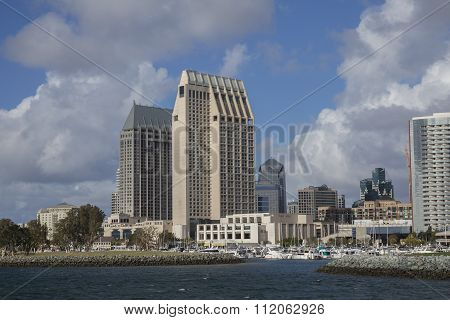 Downtown San Diego Harbor
