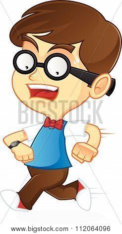 Nerd Geek running late
