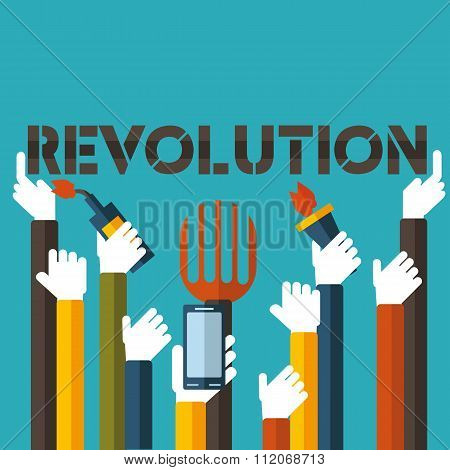 The technological revolution or the overthrow of a dictator.Only you can decide. poster
