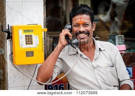 Indian Vegteable Seller