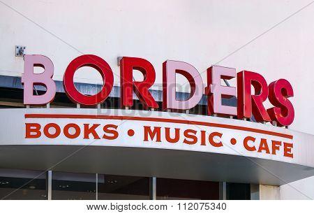 Borders Bookstore Exterior