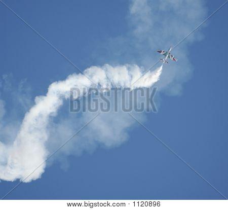 a passage of 'frecce tricolori' the italian official jet acrobatic team poster