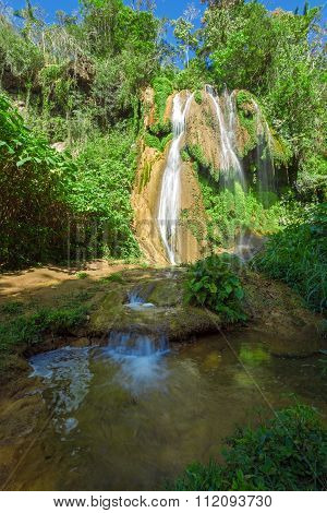 Waterfalls In Topes De Collantes, Cuba