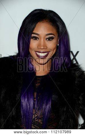 LOS ANGELES - DEC 18:  Ariane Andrew at the GENLUX Issue Release Party featuring Beverly Johnson at the The Rodeo Collection on December 18, 2015 in Beverly Hills, CA