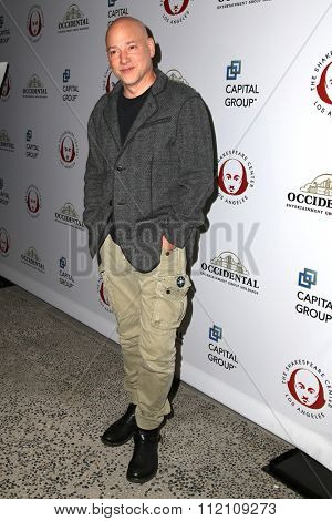 LOS ANGELES - DEC 8:  Evan Handler at the 25th Annual Simply Shakespeare at the Broad Stage on December 8, 2015 in Santa Monica, CA