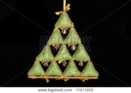 Christmas Decoration - Christmas Tree With Bells