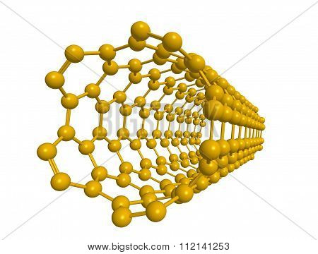 Molecular Structure Of Nanotube