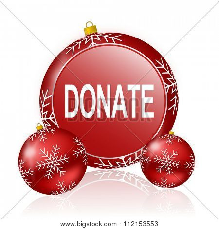 donate christmas icon