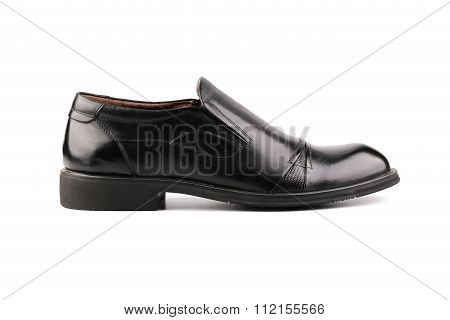Mens Shoes Isolated On White