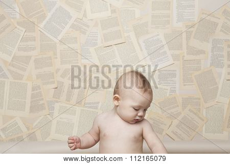 Baby Learning to Read