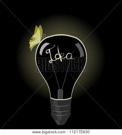 lamp symbolize the idea