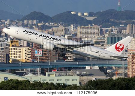 Japan Airlines Boeing 777-200 Airplane