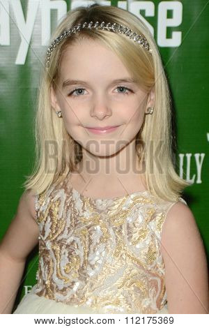 LOS ANGELES - DEC 9:  McKenna Grace at the