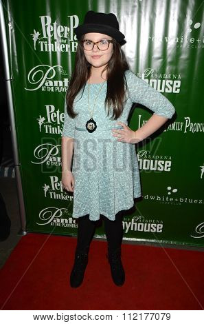 LOS ANGELES - DEC 9:  Marlowe Peyton at the