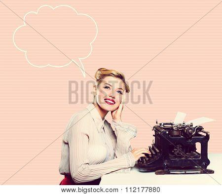 Retro writer.