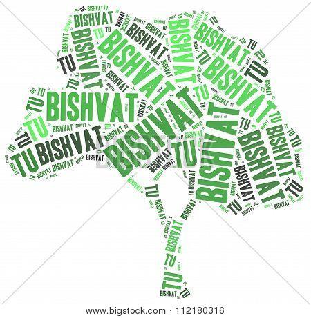 Tu Bishvat. Jewish Holiday Of Trees.