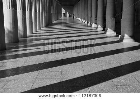 Stoa Attalos Light And Shadow