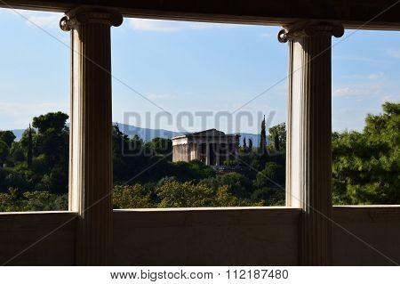 Temple Of Hephaestus Columns