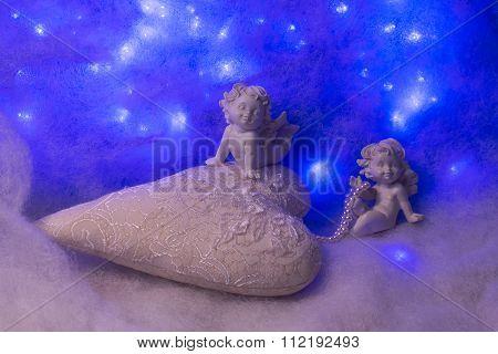 Small Angel Figurines