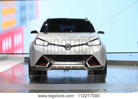 Bangkok - December 11: Mg Car On Display At The Motor Expo 2015 On December 11, 2015 In Bangkok, Tha