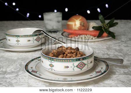 White Bean & Beef Soup