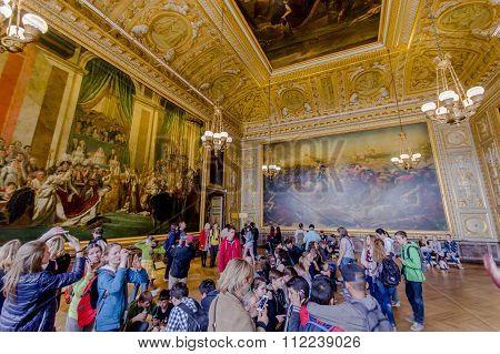 Salle du Sacre, Versailles Palace, Paris, France