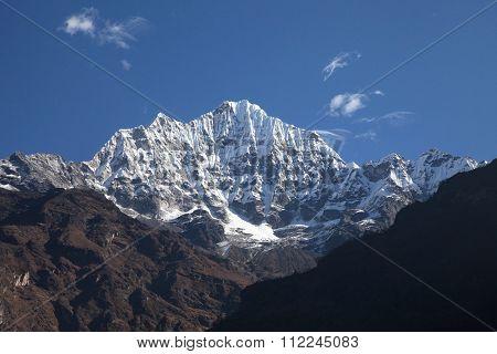 Thamserku peak, Nepal