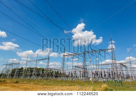 Large View On Power Station