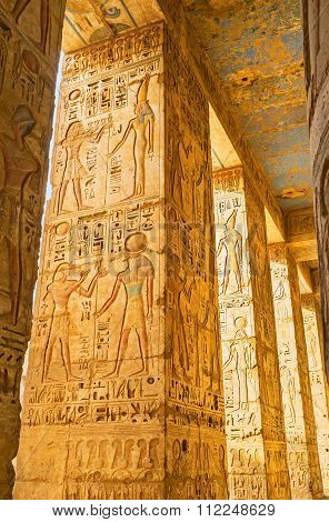 The Carved Columns