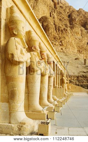 The Row Of Statues
