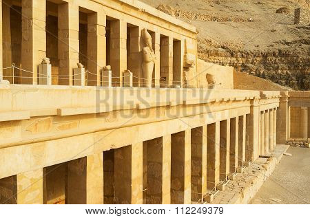 The Columns Of Hatshepsut Temple