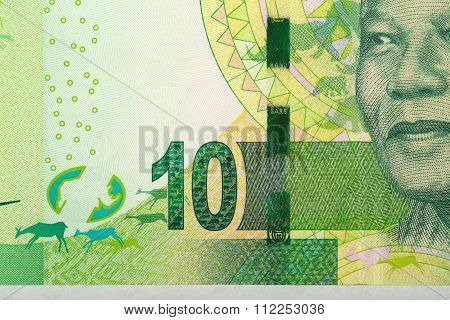 Detail Of Sout African Rand