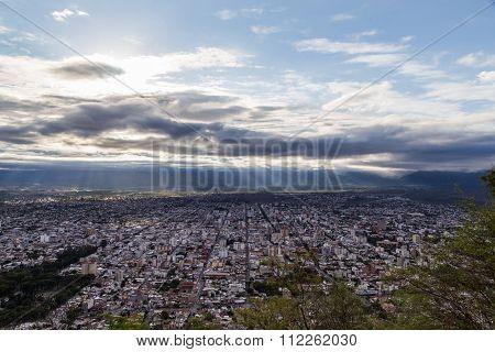 View of Salta from San Bernardo