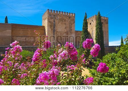Alhambra Fortress.