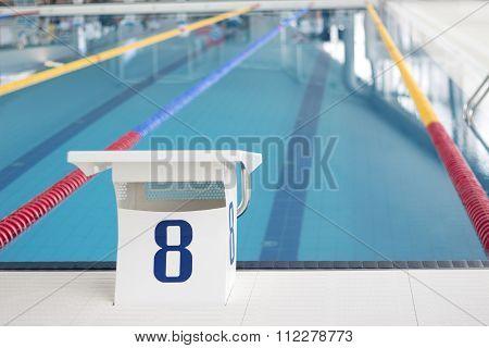Swimming Pool Starting Block