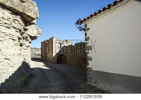 Near The Castle Ares Del Maestre