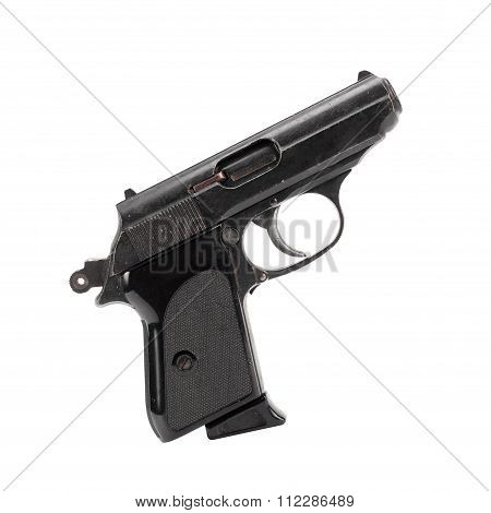 Cock Of The Gun. Isolated