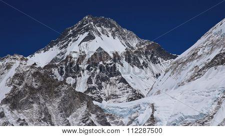 High Mountain In The Himalayas, Khumbutse