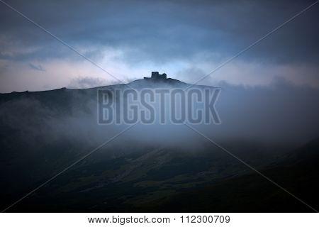 Sunrise On Pip Ivan Mountain